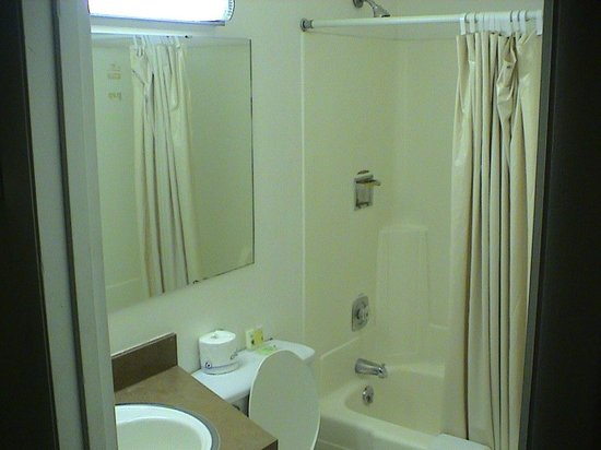 Battle Mountain Inn: Dated bathroom