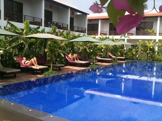 La Niche d'Angkor Boutique Hotel: soleil et repos