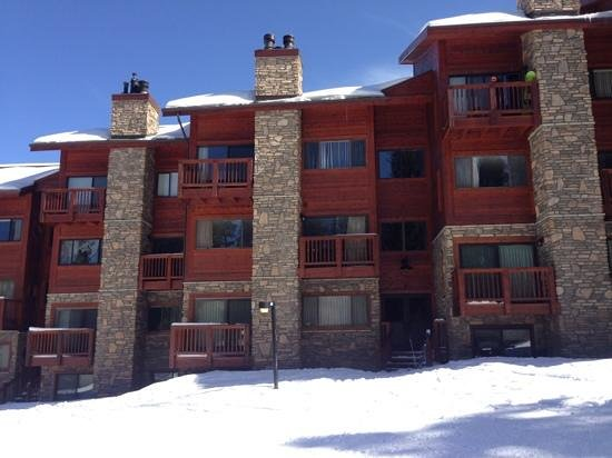 Pine Ridge Condominiums:                   condo from outside.