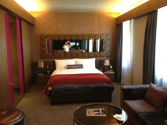W Istanbul:                   Das Betten bieten eine gute Schlafqualität