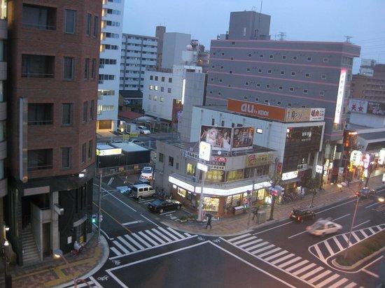 Sun Hotel Utsunomiya :                   東側