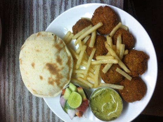 Malhotra Restaurant : Falafal at malhotra