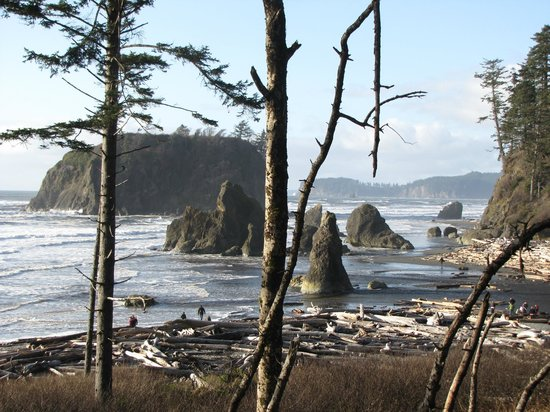 Ruby Beach: Each view more beautiful