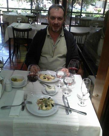 La Barranca, almuerzo