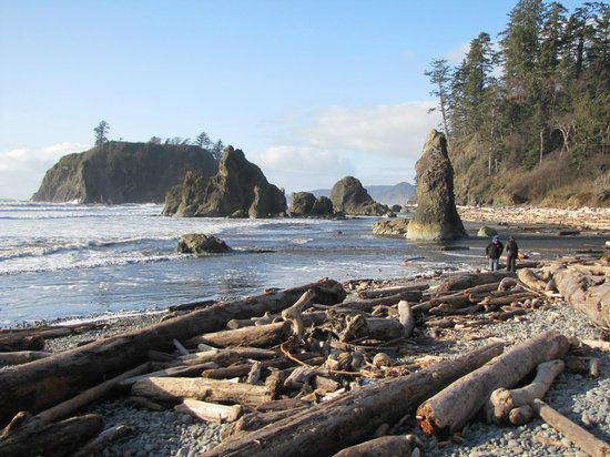Ruby Beach: Ruby's famous 1