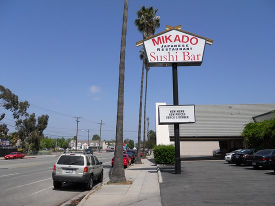 Mikado Hotel:                   Out front