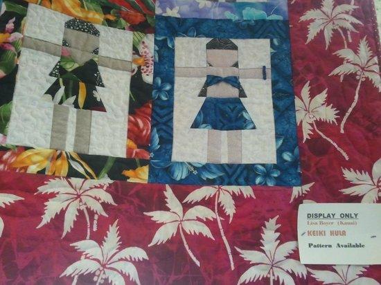 Kapaia Stitchery:                   Hula girls.