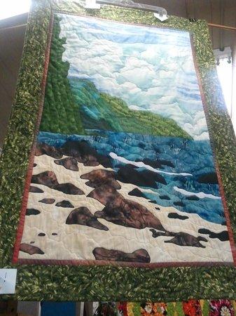 Kapaia Stitchery:                   Napali Coastline Quilt.  I bought this one!