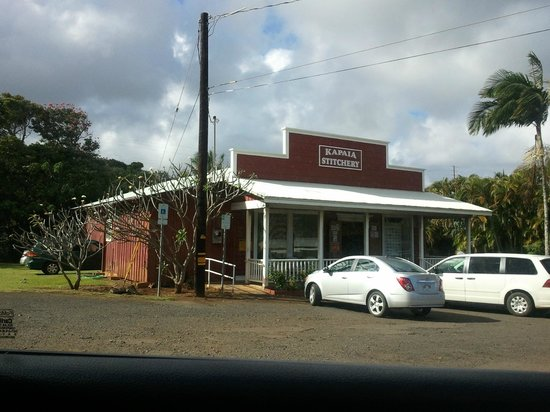 Kapaia Stitchery:                   In Lihue, easy to find.
