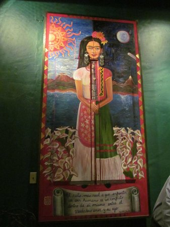 Hotel California:                   Frida greets you in the lobby