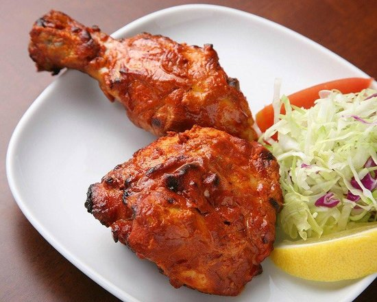 Chicken Tandoori  at Taj Mahal Restaurant Sihanoukville,Cambodia