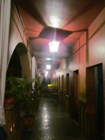 Hotel California:                   Hallway