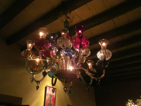 Hotel California:                   Lobby Chandelier