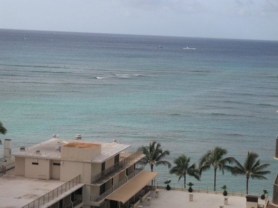 Outrigger Reef Waikiki Beach Resort:                                     Partial-Ocean View - Pacific Tower