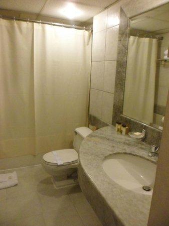 Suites Del Bosque Hotel: Baño
