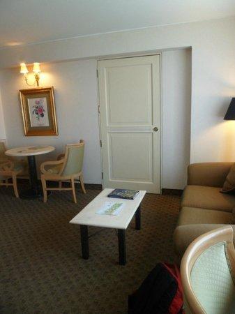 Suites Del Bosque Hotel: la sala de la habitación