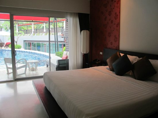 Red Ginger Chic Resort:                   the room with pool access