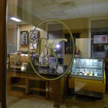 Bard Coffee:                   Door Sign