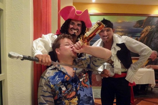 Heaven at the Hard Rock Hotel Riviera Maya:                                     A little fun with the entertainment staff.