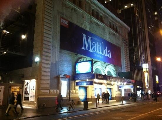 Shubert Theatre :                   Matilda the musical is absolutely splendid! A great show for any age! If you g