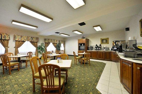 Best Western Paris Inn : breakfast room