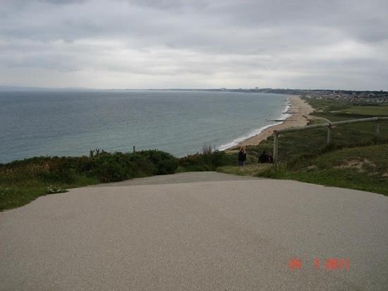 Hengistbury Head:                   views from the top