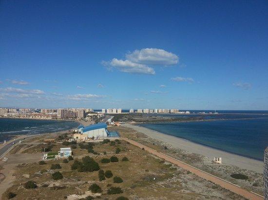 La Manga del Mar Menor, Spanien:                   playa pricipe