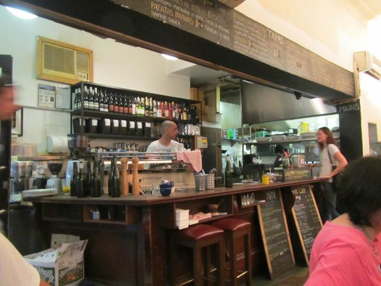 Degraves Espresso Bar: excellent atmosphere
