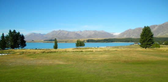 Lake Tekapo Village Motel:                                     The view from our unit