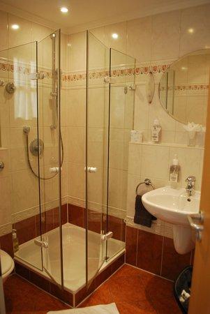 Landhotel Guglhupf: salle d'eau