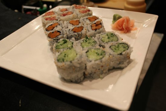Kamikaze Maki Yamagobo Roll And Cucumber Roll Picture Of Wasabi