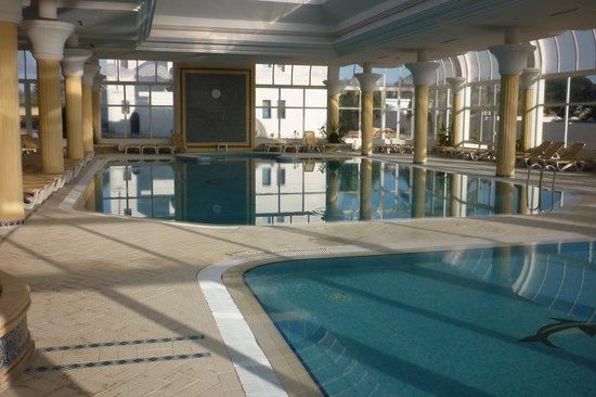 Seabel Aladin Djerba : piscine couverte