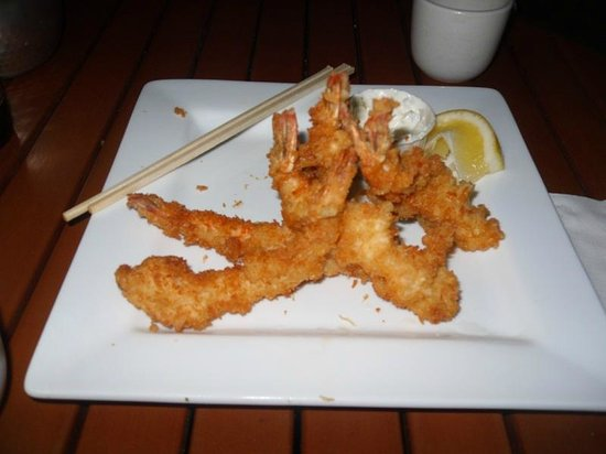 Miyo's : Appetizer: Shrimp tempura platter