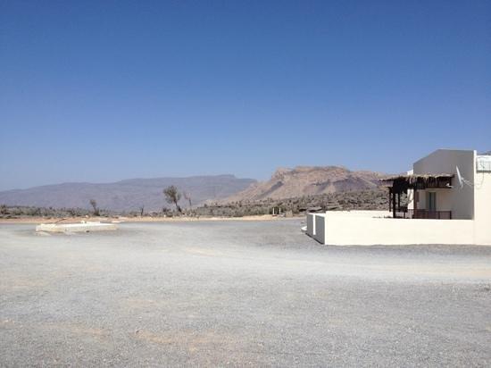 Jebel Shams Resort:                   mountain view chalet