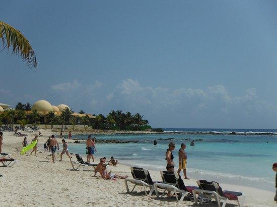 Hotel Barcelo Maya Beach:                   la plage