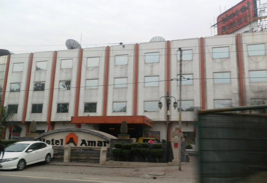 Hotel Amar: hotel from main road