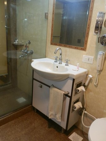 Hotel Amar: bathroom with walk in shower