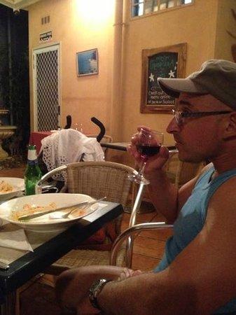 Calabrisella Restaurant: not a crumb remains