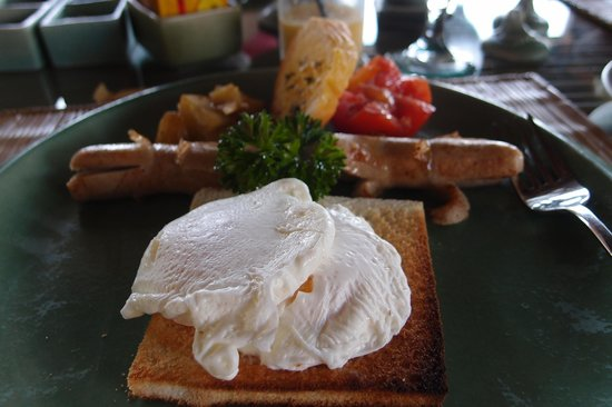 Wapa di Ume Resort and Spa: Their american breakfast option