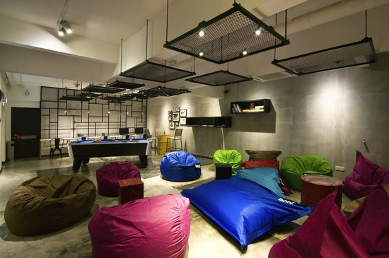 Grid 9 Hotel: Grid 9 Lounge