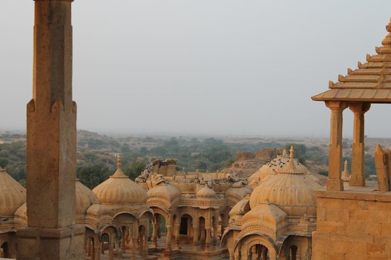 Hotel Pol Haveli :                   Nearby cemetery