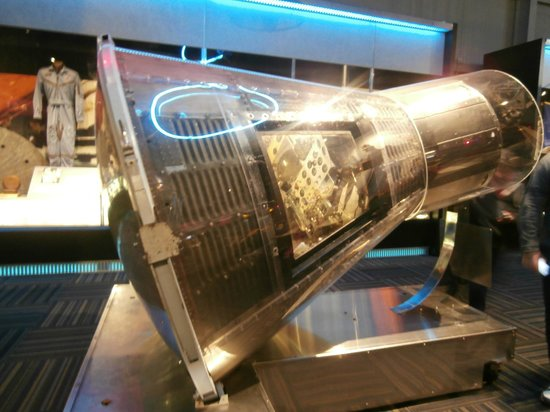 U.S. Astronaut Hall of Fame : capsula spaziale
