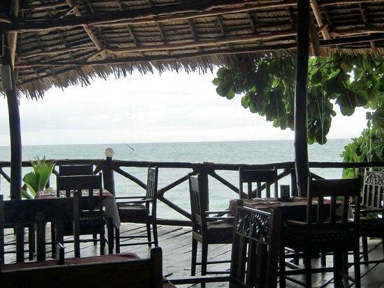 Zanzibar Ocean View : View from restaurant