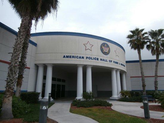 U.S. Astronaut Hall of Fame : police hall of fame