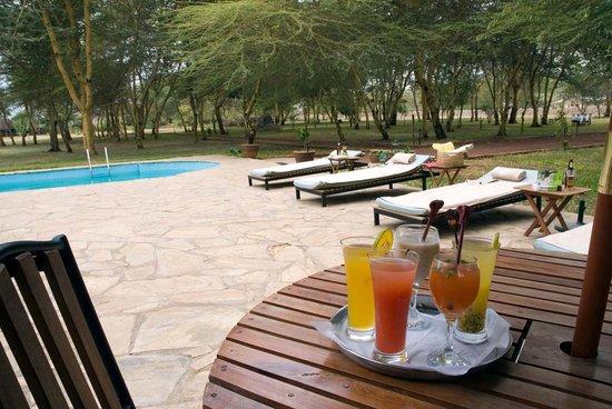 Nsya Lodge & Camp : poolside