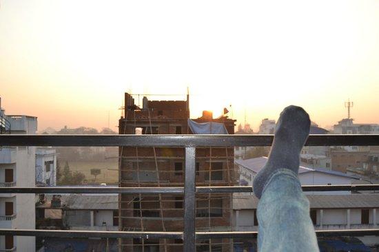 Peak Point Hotel :                                     sunrise from balcony