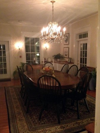 Marshall Slocum Inn: Dining Room
