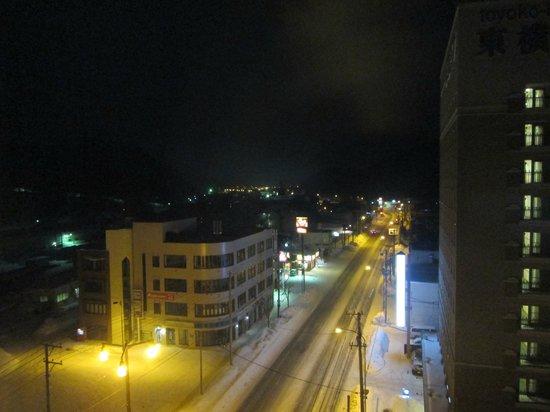 Hotel Route Inn Abashiri Ekimae :                   夜景 902