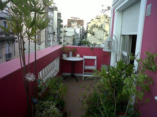 El Jardin del Tango :                   Balcony