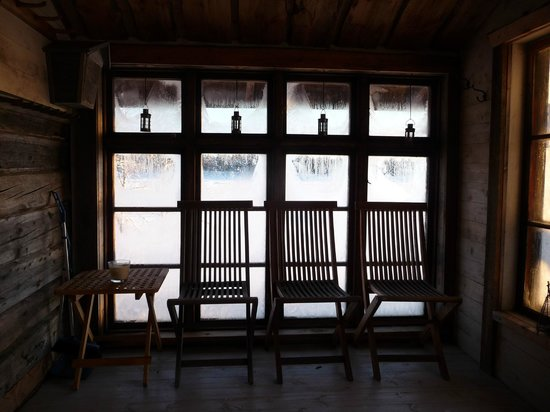 Lapland Guesthouse:                   Sauna ante room